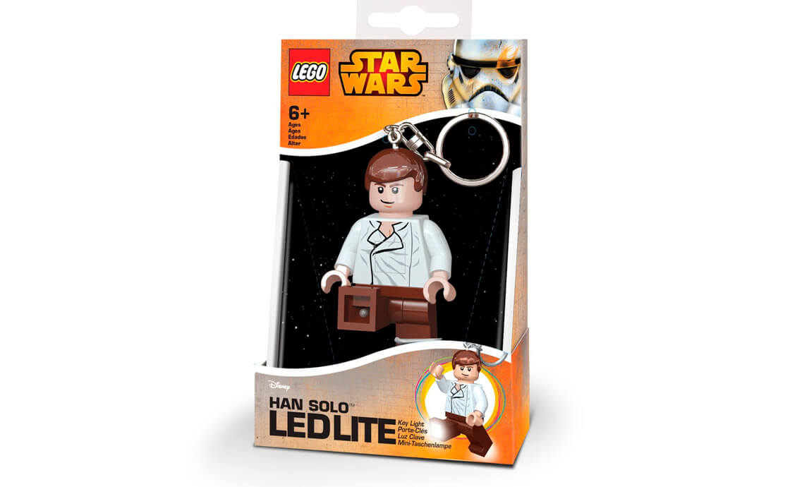 "LEGO Accessories IQ LEGO Star Wars Брелок-фонарик "" Хан Соло "" (LGL-KE82)"