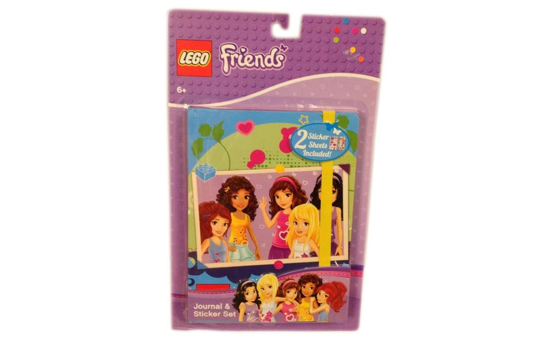 LEGO Accessories Блокнот LEGO Friends (lg06655)