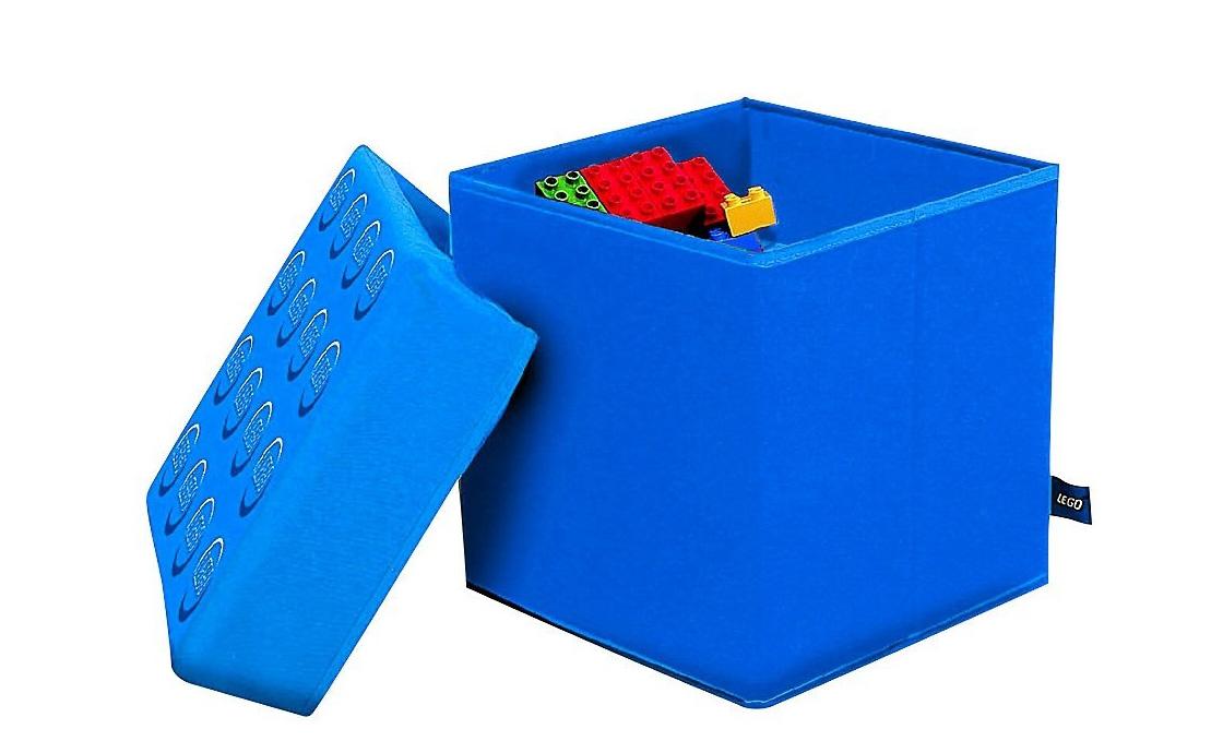 LEGO Accessories Голубая корзина для хранения игрушек (SD 377 (голубая))