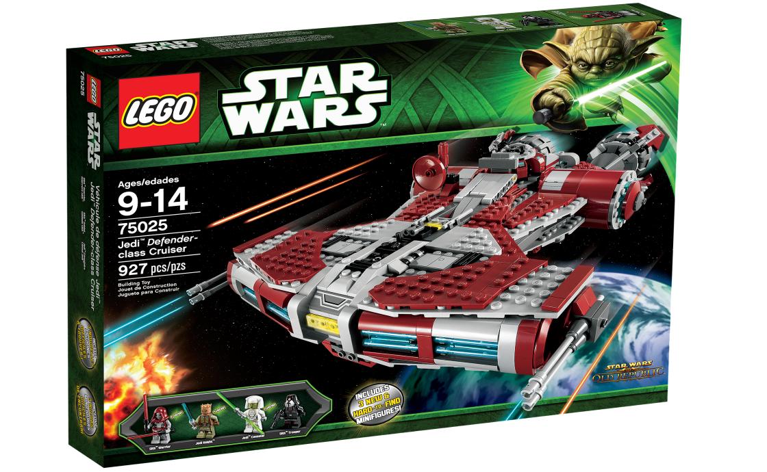 LEGO Star Wars Защитник Джедаев Клаccа Крейсер (75025)