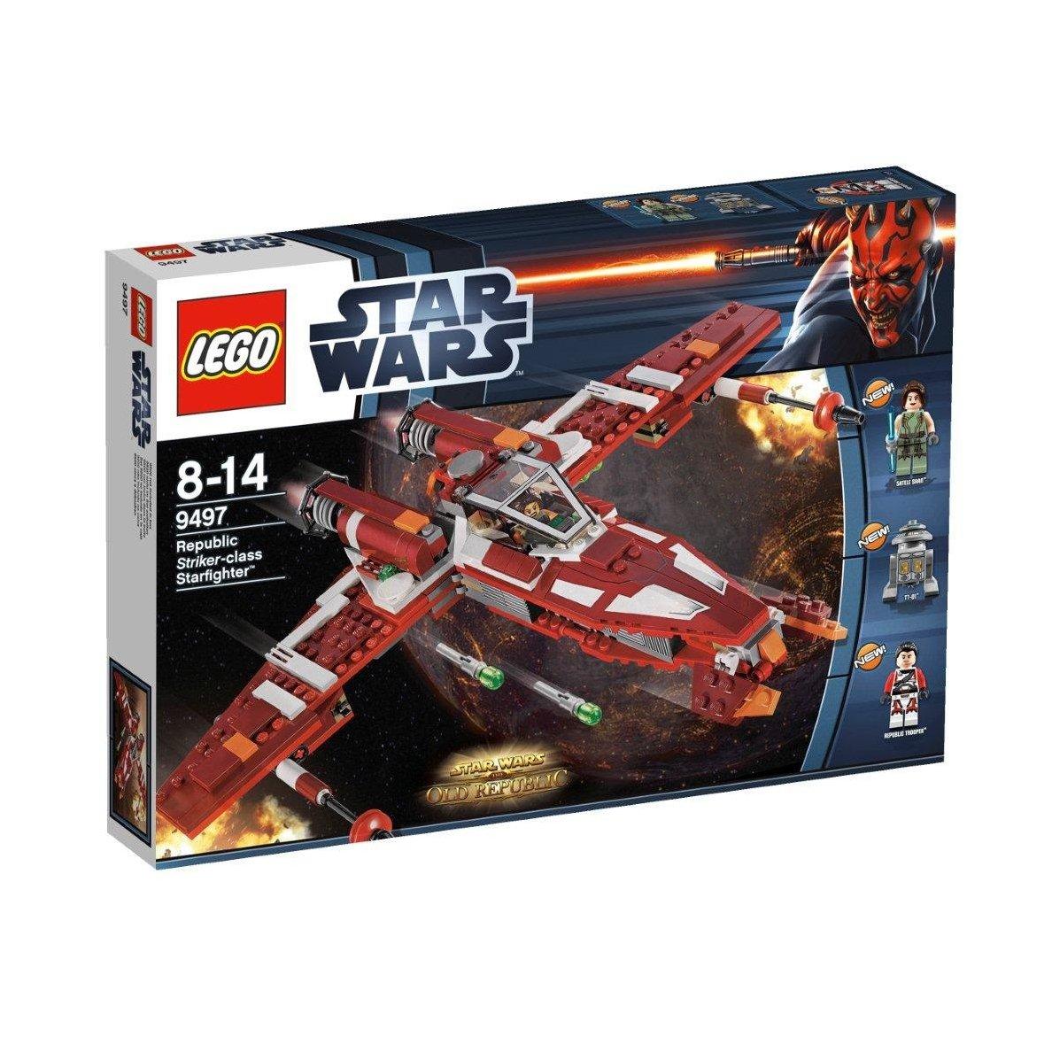 LEGO Star Wars Истребитель атакующего класса Республики (9497)