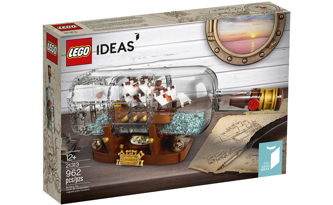 LEGO Ideas Корабль в бутылке (21313)